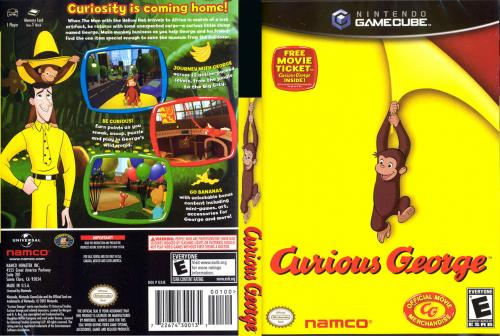 Curious George Cover - Click for full size image