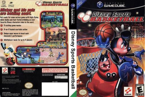 Disney Sports Basketball Cover - Click for full size image