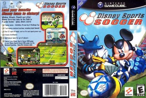 Disney Sports Soccer Cover - Click for full size image