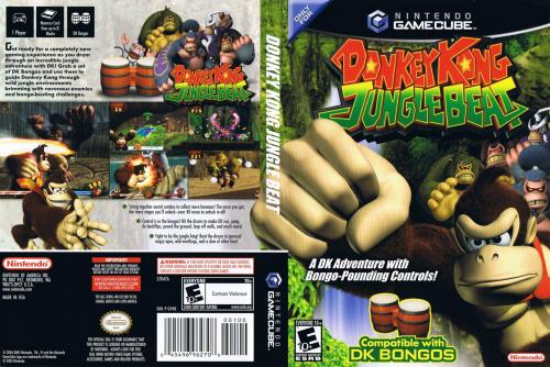 Donkey Kong Jungle Beat Cover - Click for full size image