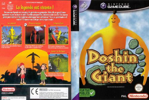 Doshin the Giant (Europe) (En,Fr,De,Es,It) Cover - Click for full size image