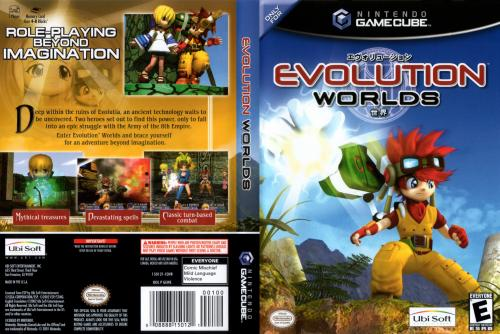 Evolution Worlds Cover - Click for full size image