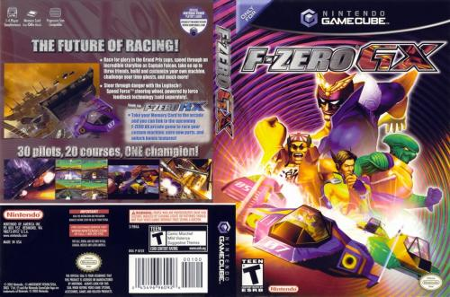 F-Zero GX (Europe) (En,Fr,De,Es,It) Cover - Click for full size image