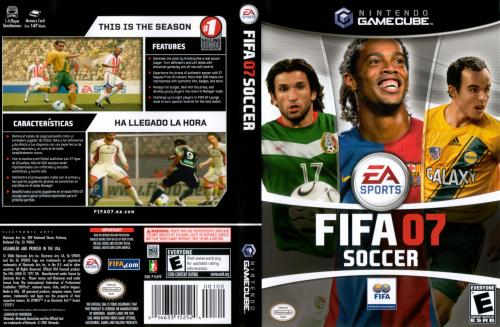 FIFA 07 (Germany) Cover - Click for full size image