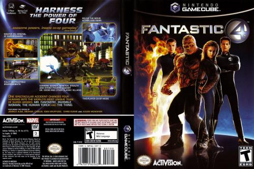 Fantastic 4 (Spain) Cover - Click for full size image