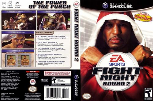 Fight Night Round 2 Cover - Click for full size image