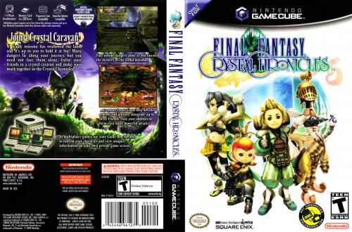 Final Fantasy Crystal Chronicles Cover - Click for full size image