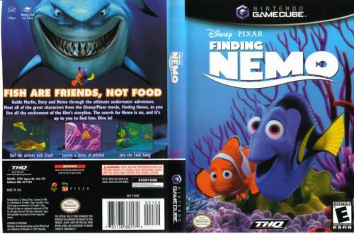 Finding Nemo Cover - Click for full size image