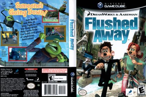 Flushed Away Cover - Click for full size image
