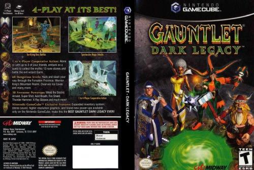 Gauntlet Dark Legacy Cover - Click for full size image