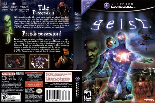 Geist (Europe) (En,Fr,De,Es,It) Cover - Click for full size image