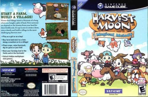 Harvest Moon Magical Melody Cover - Click for full size image