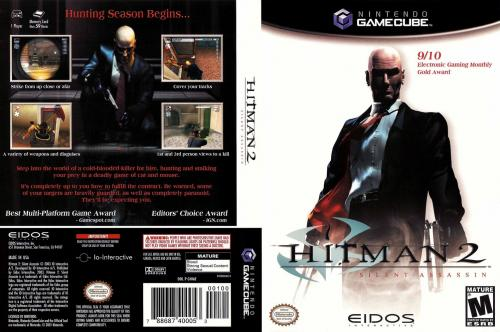 Hitman 2 Silent Assassin Cover - Click for full size image