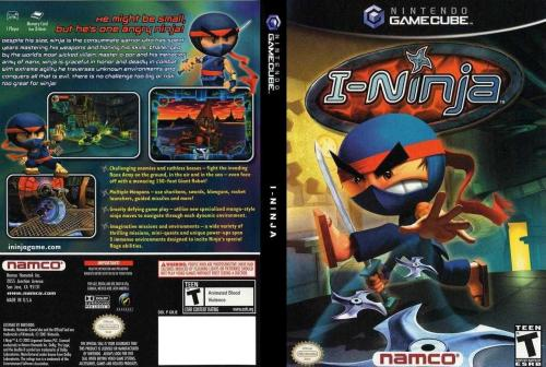 I-Ninja Cover - Click for full size image
