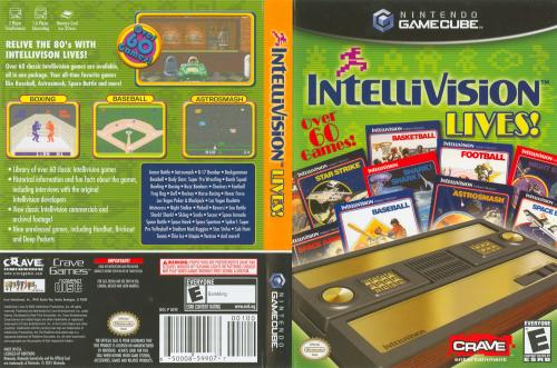 Intellivision Lives! Cover - Click for full size image