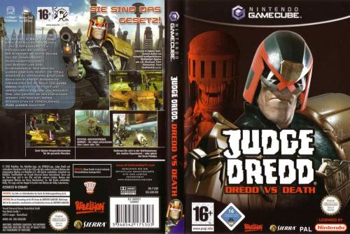 Judge Dredd Dredd Vs Death Cover - Click for full size image