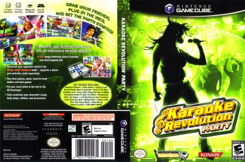 Karaoke Revolution Party Cover - Click for full size image