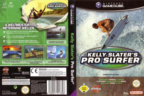 Kelly Slaters Pro Surfer Cover - Click for full size image
