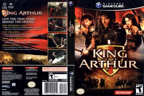 King Arthur Cover - Click for full size image