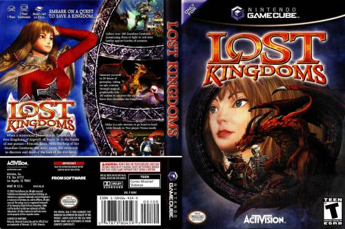 Lost Kingdoms Cover - Click for full size image