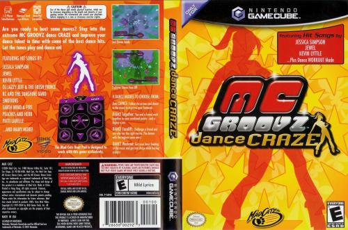 MC Groovz Dance Craze Cover - Click for full size image