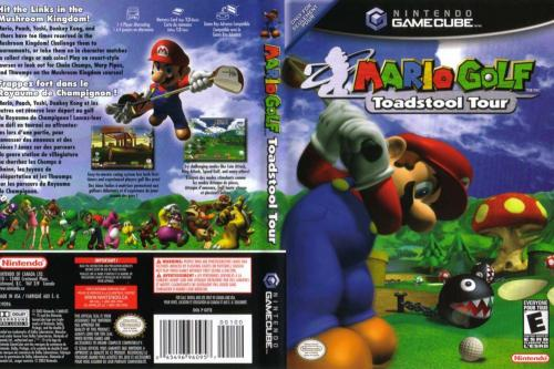 Mario Golf Toadstool Tour Cover - Click for full size image