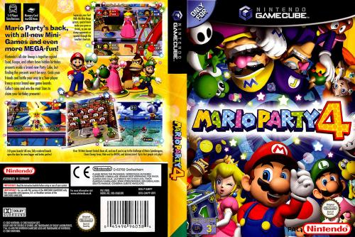 Mario Party 4 Cover - Click for full size image