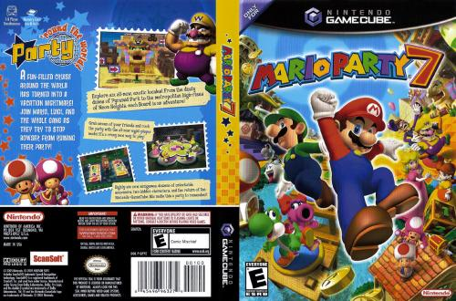 Mario Party 7 (Europe) (En,Fr,De,Es,It) Cover - Click for full size image