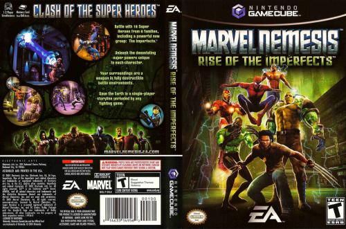 Marvel Nemesis Rise of the Imperfects Cover - Click for full size image
