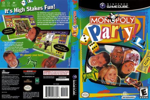 Monopoly Party Cover - Click for full size image