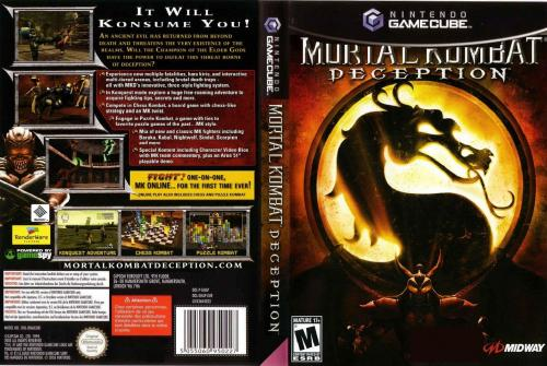Mortal Kombat Deception Cover - Click for full size image