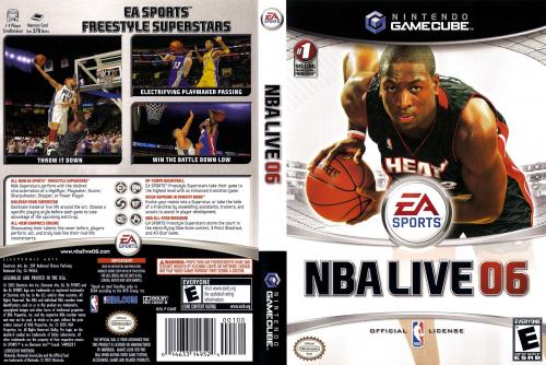 NBA Live 06 (Europe) (En,Fr) Cover - Click for full size image