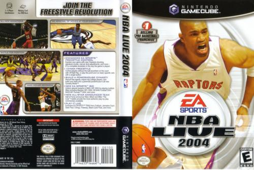NBA Live 2004 Cover - Click for full size image