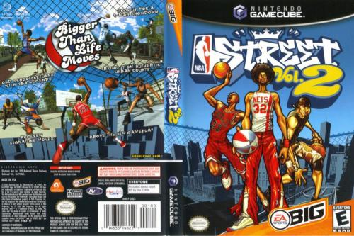 NBA Street Vol 2 Cover - Click for full size image