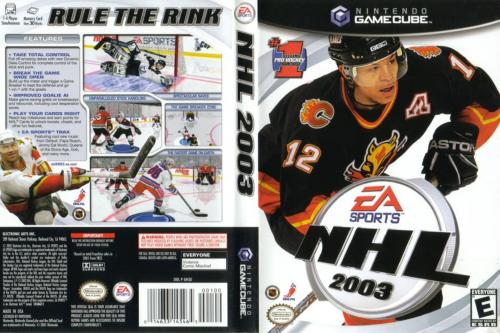 NHL 2003 Cover - Click for full size image