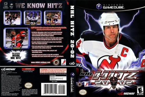 NHL Hitz 2002 Cover - Click for full size image
