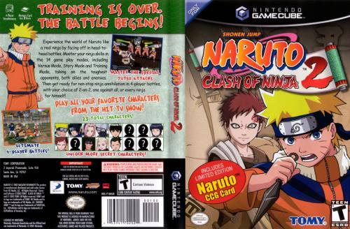 Naruto Clash Of Ninja 2 Cover - Click for full size image