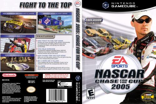 Nascar 2005 Chase for the Cup Cover - Click for full size image