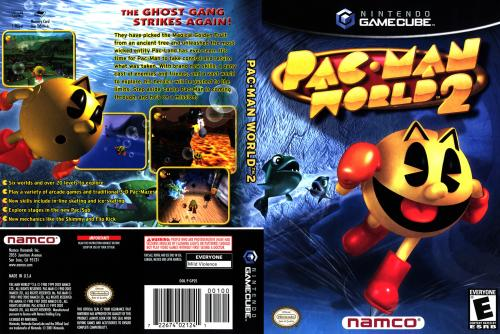Pac-Man World 2 Cover - Click for full size image