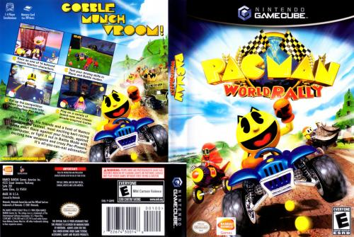 Pac-Man World Rally Cover - Click for full size image