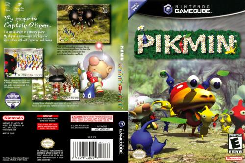 Pikmin (Europe) (En,Fr,De,Es,It) Cover - Click for full size image
