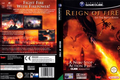 Reign of Fire Cover - Click for full size image