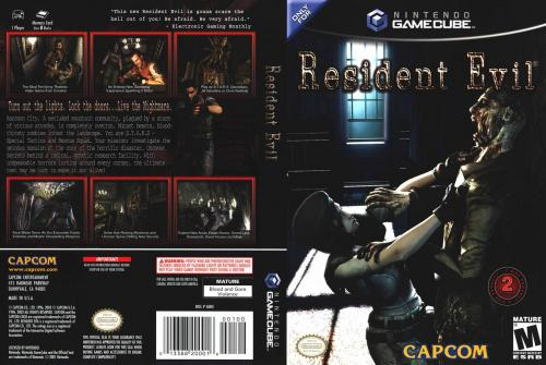 Resident Evil (Europe) (En,Fr,De,Es,It) (Disc 2) Cover - Click for full size image