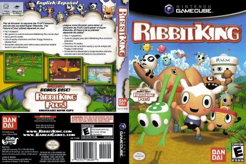 Ribbit King Cover - Click for full size image
