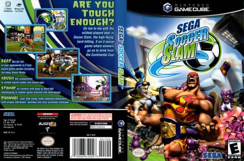 Sega Soccer Slam Cover - Click for full size image