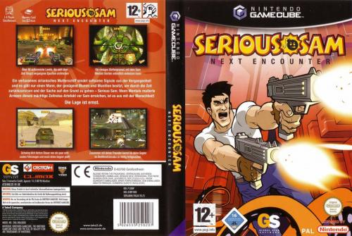 Serious Sam Next Encounter Cover - Click for full size image