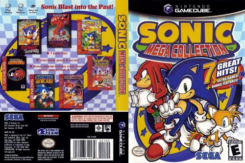Sonic Mega Collection (Europe) (En,Fr,De,Es,It) Cover - Click for full size image