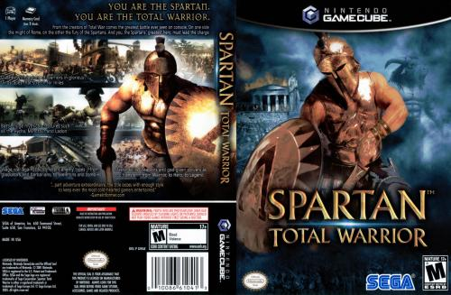 Spartan Total Warrior Cover - Click for full size image