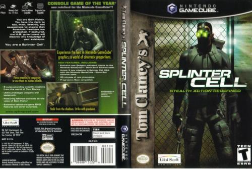 Splinter Cell Cover - Click for full size image