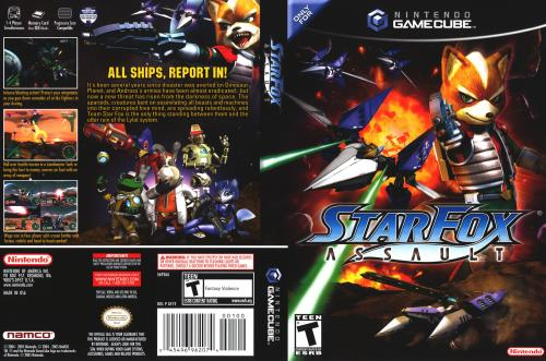 Star Fox Assault Cover - Click for full size image